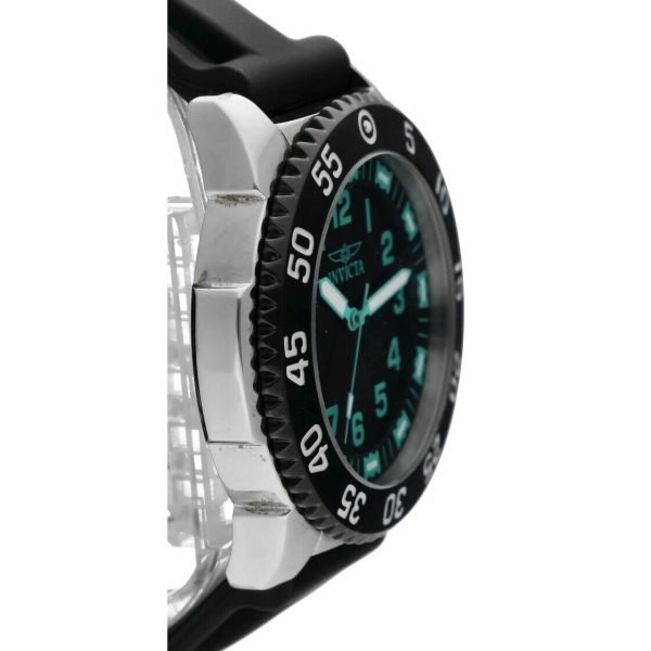 Invicta 1099 Specialty 48mm Stainless Steel Black Rubber Quartz Mens Watch 114499775734 4
