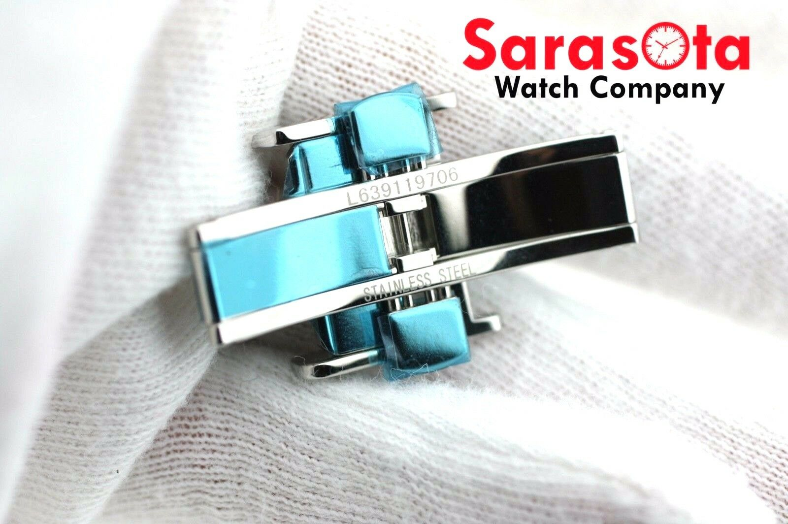 100 Original Longines Stainless Steel Watch Butterfly Buckle 18mm Leather Band 113496797985 5
