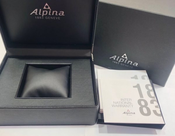 Alpina Startimer Pilot Chronograph AL 725B4S6 44mm Leather Automatic Mens Watch 133554921115 4