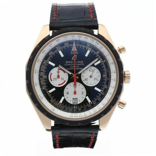 Breitling R14360 Chrono Matic 49 Limited Edition Rose Gold Automatic Mens Watch 133383550405 2