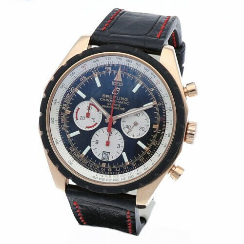 Breitling R14360 Chrono Matic 49 Limited Edition Rose Gold Automatic Mens Watch 133383550405 3