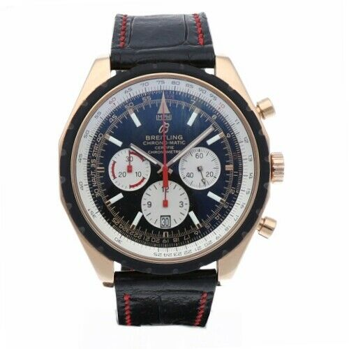 Breitling R14360 Chrono Matic 49 Limited Edition Rose Gold Automatic Mens Watch 133383550405