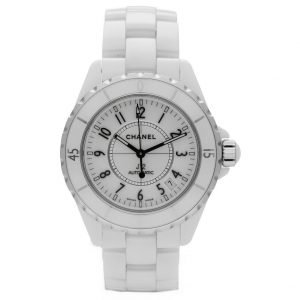 Chanel J12 H0970 LD 98440 White Ceramic Arabic Dial 39mm Automatic Womens Watch 114476497925