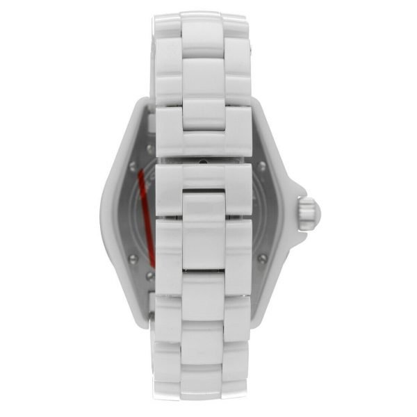 Chanel J12 H0970 LD 98440 White Ceramic Arabic Dial 39mm Automatic Womens Watch 114476497925 6