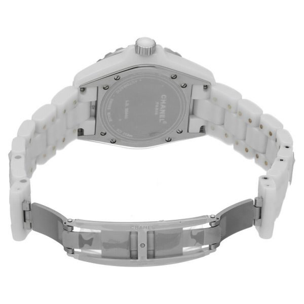 Chanel J12 H0970 LD 98440 White Ceramic Arabic Dial 39mm Automatic Womens Watch 114476497925 7