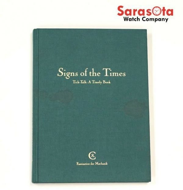 Chronoswiss Signs of the Times Tick Talk A Timely Book Gerd R Lang Signed 1st 122141377365 3