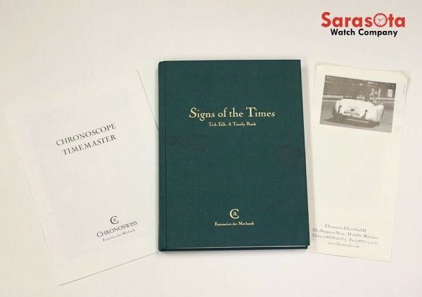 Chronoswiss Signs of the Times Tick Talk A Timely Book Gerd R Lang Signed 1st 122141377365