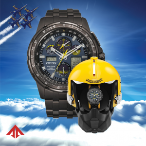 Citizen Blue Angels Eco Drive Radio Controlled Promaster Skyhawk A T JY8097 58L 133650405015