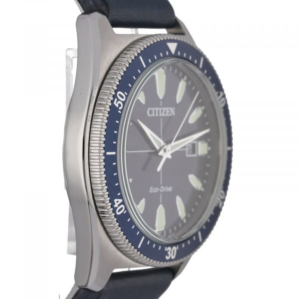 Citizen-Eco-Drive-J810-R010913-Steel-43-mm-Blue-Dial-Leather-Solar-Mens-Watch-114708187465-3