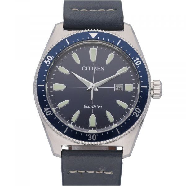 Citizen-Eco-Drive-J810-R010913-Steel-43-mm-Blue-Dial-Leather-Solar-Mens-Watch-114708187465