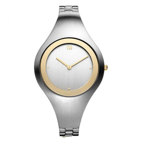 Danish Design IV65Q977 Silver Dial Stainless Steel Quartz Classic Womens Watch 122241534305