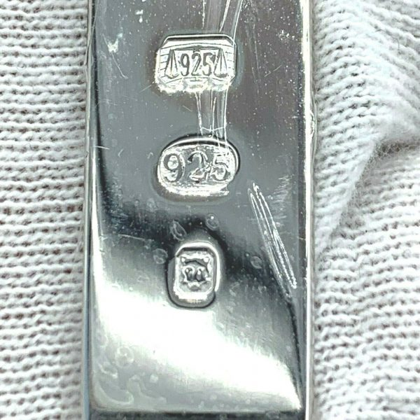 Dunhill JF8706K Rectangle Hallmark 925 Sterling Silver Keychain Mens Gift 133076270575 6