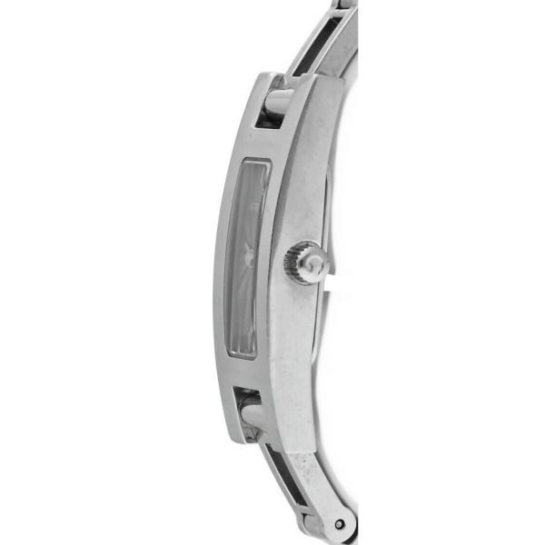Gucci 3900L Stainless Steel Grey Dial Rectangle Swiss Quartz Womens Watch 114665258585 4