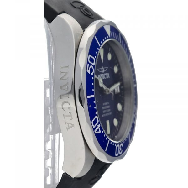 Invicta Grand Diver 11752 Blue Dial Steel 47mm Rubber Automatic Mens Watch 133597343265 4