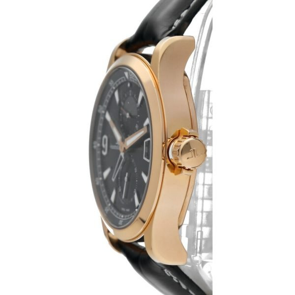 Jaeger LeCoultre 146205 Master Compressor GMT 18k Rose Gold Leather Mens Watch 124443522925 3