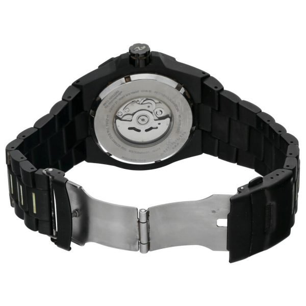 Android AD671 Tritium T100 Black PVD Stainless Steel 48mm Automatic Mens Watch 124466370556 7