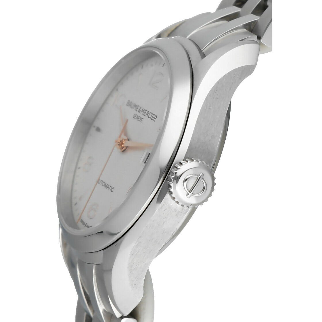 Baume Mercier Clifton M0A10150 Stainless Steel 30mm Automatic Ladies Watch 124285893226 3