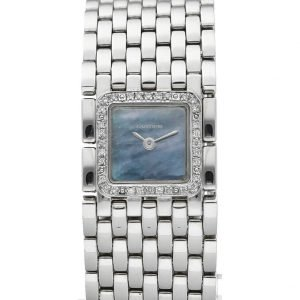Cartier Panthere Ruban 2420 Steel Diamond MOP Dial Swiss Quartz Womens Watch 133443409946