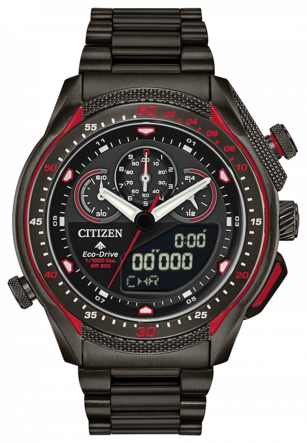 Citizen Eco Drive JW0137 51E Promaster SST Black Steel Diver Solar Mens Watch 133570239306