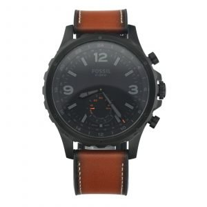 Fossil FTW1114 NDW2A Hybrid Smartwatch Q Nate Black PVD 50mm Quartz Mens Watch 114675212226