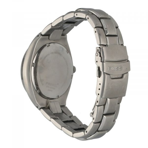 Fossil PR 5098 Greatrace Carbon Dial Stainless Steel 40mm Quartz Mens Watch 133649860386 3