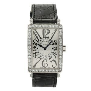 Franck-Muller-Long-Island-1002-QZ-DP-18k-White-Gold-Diamonds-Quartz-Wrist-Watch-124652909706