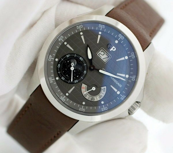 Girard Perregaux 49650 Traveller Large MoonPhases Leather Automatic Mens Watch 133577135186 6