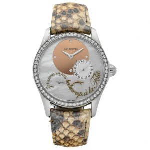 Jean Richard 64143 Bressel Lady Juliette Snake Leather Automatic Womens Watch 133019301186