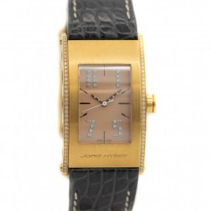 Jorg Hysek Kilada S011 0026 18k Rose Gold Diamond Bezel Quartz Mens Watch 123935519096