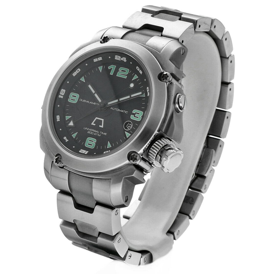 Anonimo Universal Time 6001 Professional GMT Steel 44mm Automatic Mens Watch 133445901887 2