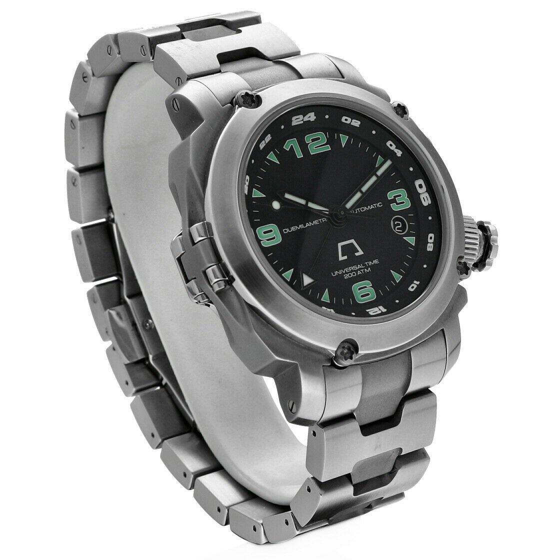 Anonimo Universal Time 6001 Professional GMT Steel 44mm Automatic Mens Watch 133445901887 3