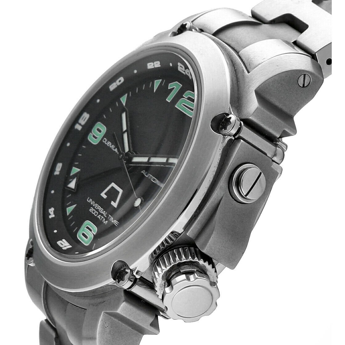 Anonimo Universal Time 6001 Professional GMT Steel 44mm Automatic Mens Watch 133445901887 4