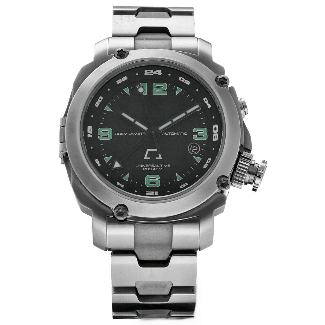Anonimo Universal Time 6001 Professional GMT Steel 44mm Automatic Mens Watch 133445901887