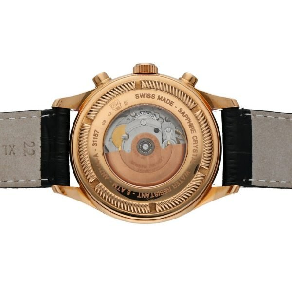 Armand Nicolet AN7144 A Chronograph 18k Solid Rose Gold Automatic Mens Watch 133560699117 8