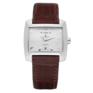 Baume Mercier Hampton Spirit M0A08254 Rectangle Steel Automatic Wrist Watch 114588495117