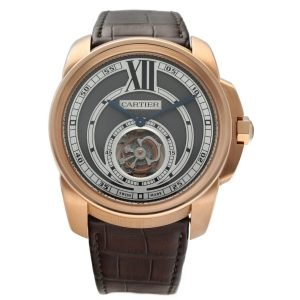Cartier-Calibre-De-Cartier-Tourbillon-3204-18k-Rose-Gold-46mm-Wrist-Watch-133739079647