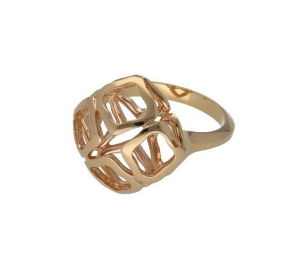 Chopard 829204 5010 Imperiale 18k Rose Gold 750 Womens Ring Size 6 114624393147 3