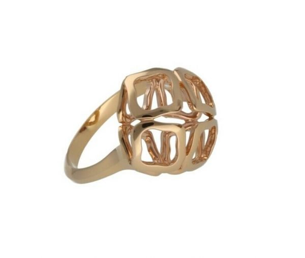 Chopard 829204 5010 Imperiale 18k Rose Gold 750 Womens Ring Size 6 114624393147 4