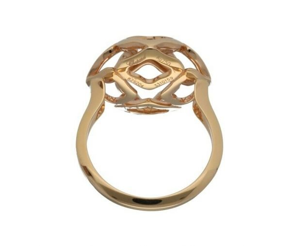 Chopard 829204 5010 Imperiale 18k Rose Gold 750 Womens Ring Size 6 114624393147 6
