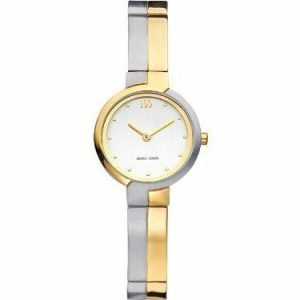 Danish Design IV65Q939 Silver Dial Two Tone Titanium Quartz Classic Womens Watch 112213430547