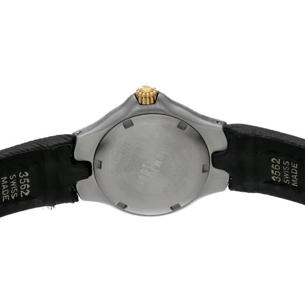 Ebel Classic Wave E6087621 18K Stainless Steel Leather 28mm Quartz Ladies Watch 114155215287 7