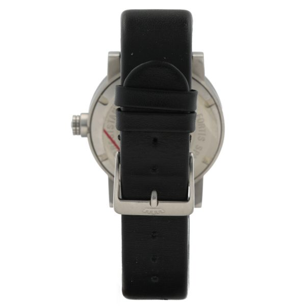 Fortis Eco Spacematic 62622159 Steel 40mm Leather Swiss Quartz Mens Watch 133797291117 5