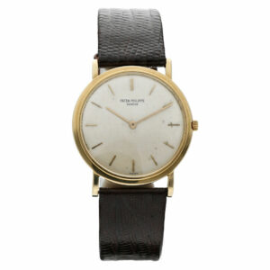 Vintage Patek Philippe Calatrava 3520 18k Yellow Gold Manual 32mm Wrist Watch 114287086877