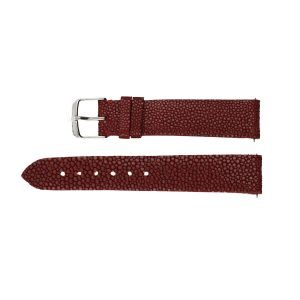 100-Authentic-Michele-Galuchat-Stingray-Leather-Burgundy-18mm-Strap-114781939948