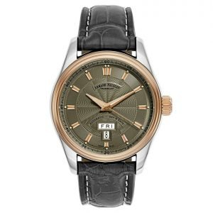Armand Nicolet M02 8640A GS P974GR2 18k Rose Gold Steel Automatic Mens Watch 124440254308