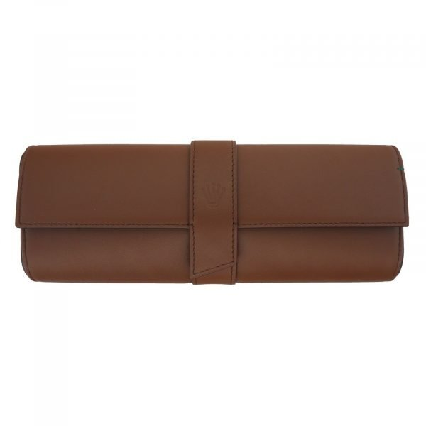 Authentic-Rolex-Watch-Roll-Brown-Leather-Case-Holder-10-x-35-133686906238-2