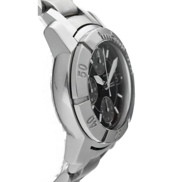 Baume Mercier Capeland Chronograph Stainless Steel Swiss Automatic Wrist Watch 114472959458 4