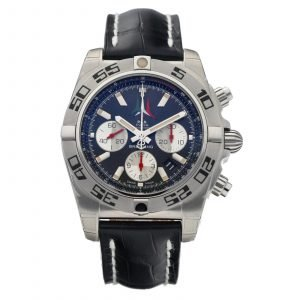 Breitling AB0110 Chronomat 44 Limited Edition Leather Automatic Mens Watch 133600032108