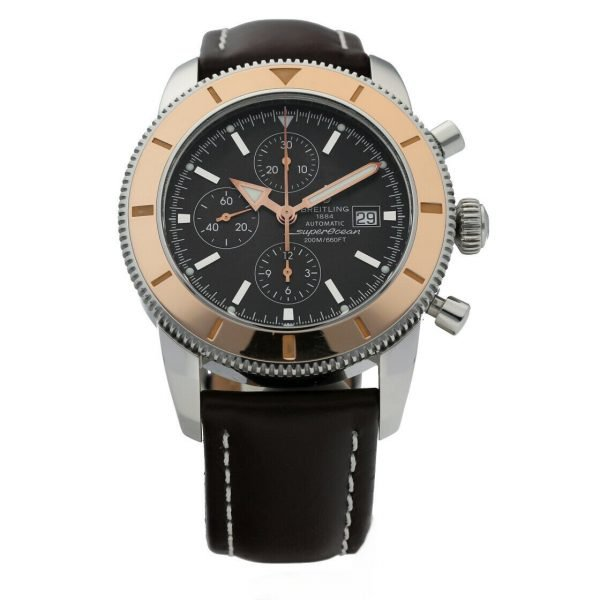 Breitling Superocean Heritage Rose Gold and Stainless Steel Automatic 124255481408