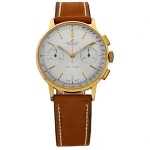 Breitling Top Time 2000 Gold Plated Chronograph Manual Wind 35mm Mens Watch 114160975368